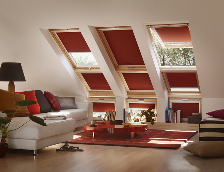 Velux blinds blinds essex southend basildon billericay for Velux solar powered blinds